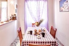Servizio fotografico casa vacanze, Sala da pranzo