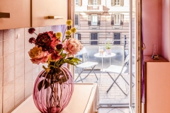 Servizio fotografico casa vacanze, Sala da pranzo, Cucina a vista con Balcone