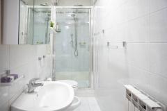 Servizio fotografico casa vacanze, Mini appartamento, Toilette con doccia